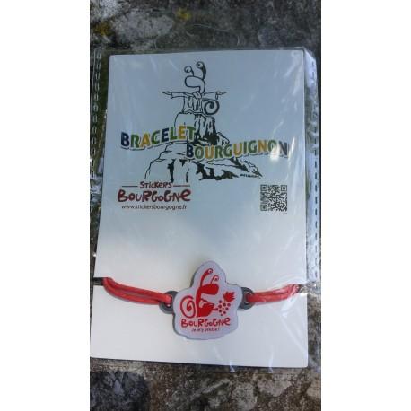 Bracelet Bourguignon ROUGE