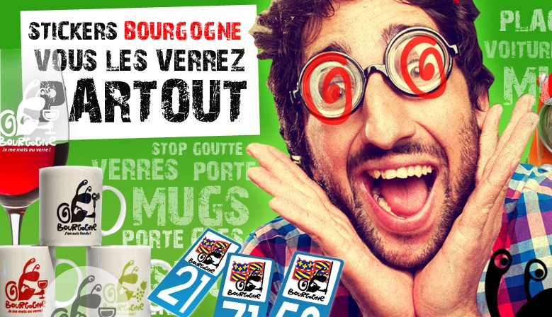 Stickers Bourgogne